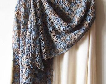 Iris Scarf Crochet Pattern PDF