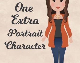 One Extra Portrait Character for Family Portrait