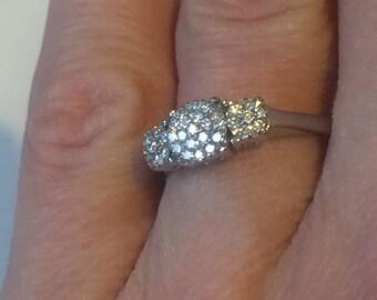 A Chimento Diamond 18K gold ring