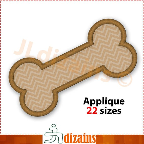 Dog Bone Embroidery Machine Design 10464 from ZoeysDesigns on Etsy ...