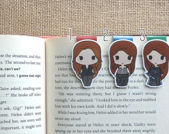 Magnetic Bookmarks • The Huntress