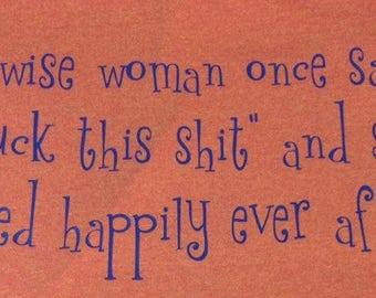 Wise Woman Tee
