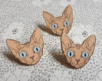 Sphynx Cat Pin!