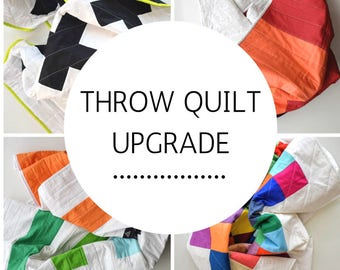 Upgrade Any Quilt to a Throw Size!