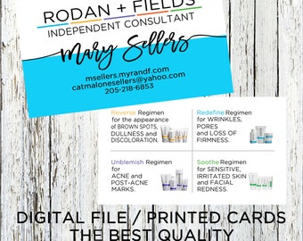 Rodan + Fields Business Card, Rodan and Fields Business Card