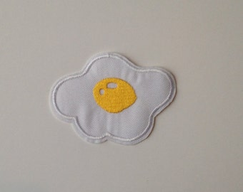 Fried Egg Iron on Patch