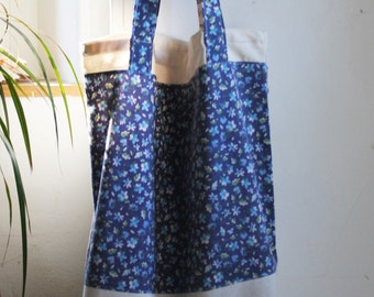 tote bag, tote, recycled tote bag, upcycled tote bag, big tote bag, market bag, book bag, casual bag, lunch bag