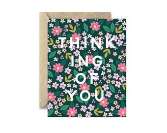 Thinking Of You Garden - Greeting Card
