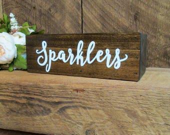 wedding sparkler holder, sparkler box, wedding sparklers, let love sparkle, love sparkles, wedding send off, sparkler send off, wood box