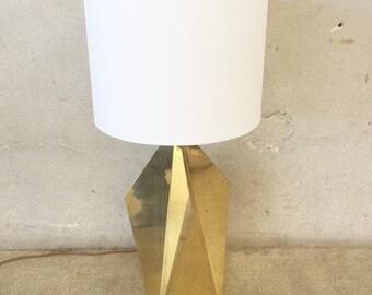 Geometric Gold Table Lamp (2JSTB1)