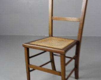 Single Occasional Cane Seat Chair