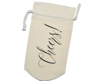 Cheers Long Style | Wine Bag | Gift Bag | Wine Gift