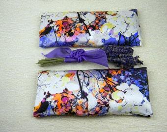 """Lavender """"Fantome"""" Silk Eye Pillow"""