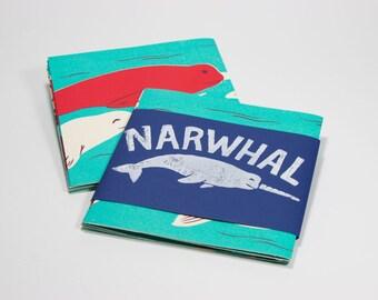 Narwhal Silkscreen Book