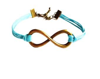 Infinity Bracelet, Stocking Fillers, Charm Bracelet, Friendship Bracelet, Gifts For Girls Bracelet, Good Karma Bracelet, Best Friend Gift