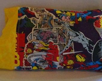 Marvel Comics Travel Pillowcase