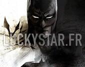 Batman // Impression numérique // Gotham // Dark Knight