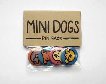 Mini Dogs Pin Pack