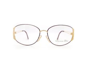 Genuine 1980s Christian Dior 2881 48 Vintage Glasses Frame // Made in Austria // New Old Stock