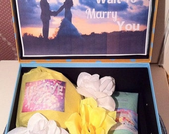 Bride Box. I Can't Wait to Marry You YouAreBeautifulBox. Bride Gift Box. Bride to be Gift. Bridal Shower Gift. Bride Gift. Engagement Gift.