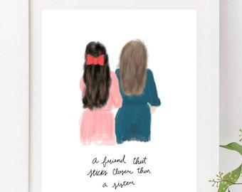 friends artwork | etsy, Hause ideen