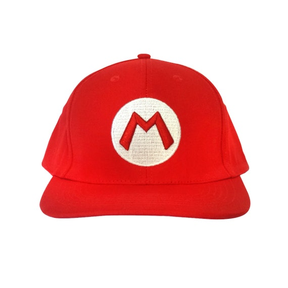m baseball cap as mario wears in mario bros high quality