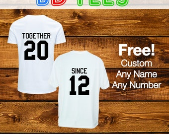 salesale Couple T-Shirt Set, Pregnancy T-Shirt, Pregnancy Announcement, baby shower gift, New Mom, Daddy, pregnancy design tee.