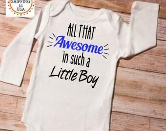 Boy Onesie, Funny Onesie, New Baby Gift, Baby Shower Gift, Take Home Outfit, Cute Baby Boy Onesie, Newborn Onesie Boy, Baby Boy Clothes