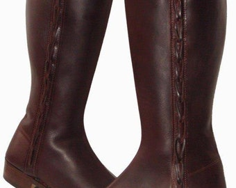 Leather boots // woman leather boots // customized boots // meassured boots // beef skin boots
