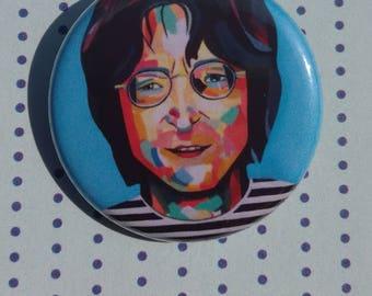 John Lennon pin badge