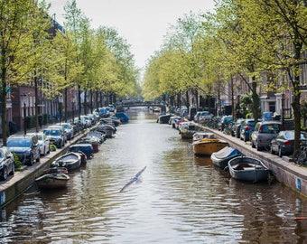 Amsterdam Canal - Art Print - Holland