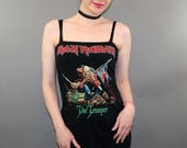 Iron Maiden The Trooper Heavy Metal Tank Top Dress Band Merch
