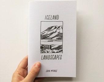 Iceland Landscapes Zine