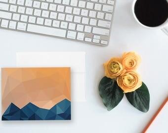 Colorado Sunset - Beautiful Blank Notecards
