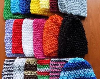 """6"""" crochet  tubes or headbands for tutus"""