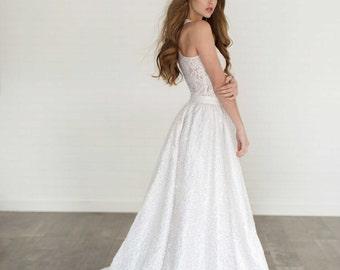 Lise Sequin Wedding Skirt /// Full Sequin Skirt