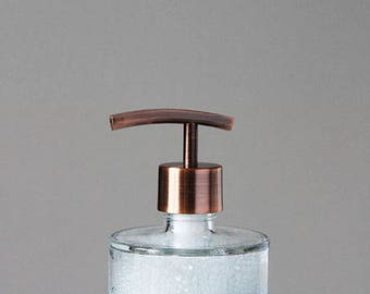 Seaside Spa Glass Soap Dispenser