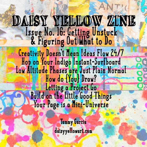 Zine #16 Daisy Yellow