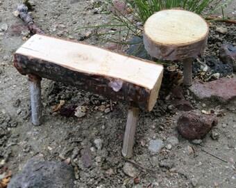 Fairy garden stools