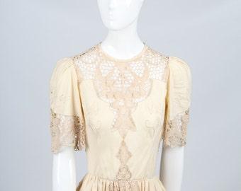 Exquisite Vintage Boho Dress