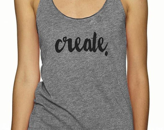 Create Tank - Grey Maker Women's Tank