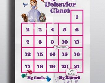 good and bad behavior chart