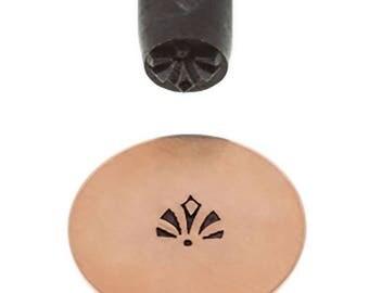5 mm Shell Elite Design Stamp Jewelry Making Metal Stamping Tool - PUN-203.35