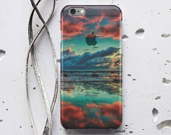 Beautiful Sunset iPhone 5s Phone iPhone 6 Case Samsung Galaxy S7 Case 3D Hard Plastic Case iPhone X iPhone 8 Case for Samsung Note 5 WC1610