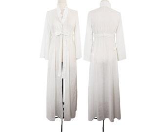 organic dress, organic gown, organic nightgown, white peignoir, organic peignoir, white dress women, organic robe, organic bathrobe, spa