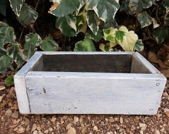Rustic Reclaimed Wood Box/Crate