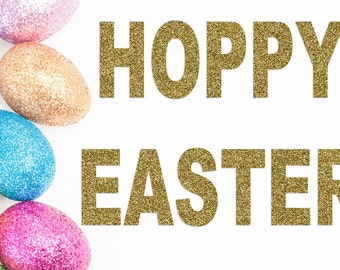 Hoppy Easter Banner