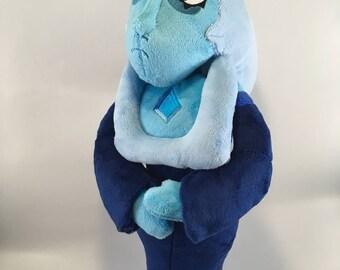 Blue Diamond Inspired OOAK Custom Plush