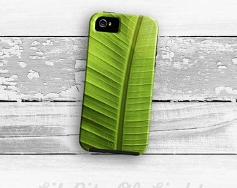 Tropical iPhone 6s Case - iPhone 6s Plus Cover - iPhone 5s Case - Nature iPhone 5C Case - Green iPhone 5 Case - Leaf iPhone 6 Case Natural