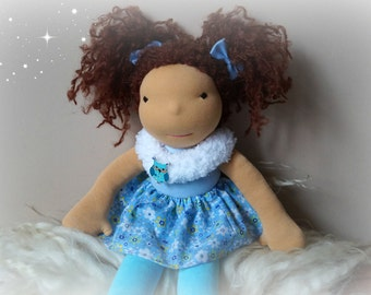 FREE SHIPPING! Waldorf doll, waldorf inspired doll, steiner doll, doll waldorf, cloth doll, fabric doll, cuddle doll, handmade